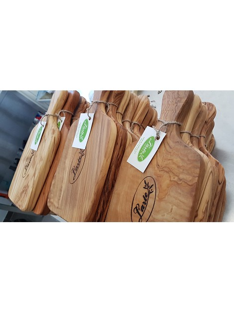 L'arte Olive Wood Cutting Board 12cm x 27cm