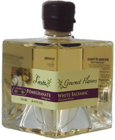 Pomegranate White Balsamic 250ml Aged 4 years