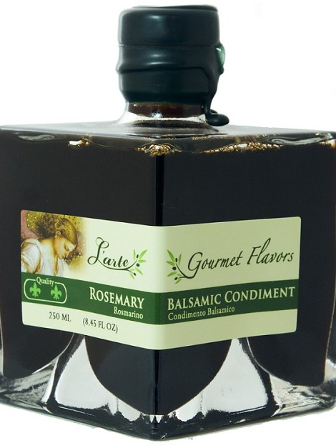 Rosemary Dark Balsamic Vinegar 250ml Aged 4 years